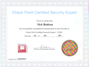Check Point CCSE