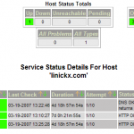 Nagios Host Detail Example