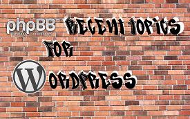 PHPbb Recent Topics Logo
